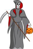 Grim Reaper — Stock Vector