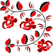 Floral Ornament — Stock Vector #66189721