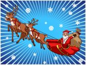 Santa Claus illustration — Stock Vector