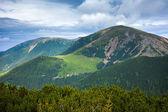 Mountain panorama — Stock Photo