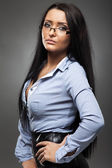 Latino businesswoman — Foto Stock