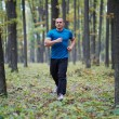 Man jogging in the forest — Stock Photo #57204071