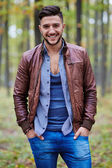 Fashionable young man — Stock Photo