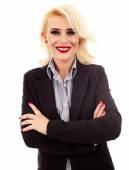 Mature businesswoman — Stock Photo