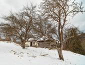 Creepy ruined house — Foto de Stock