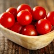 Cherry tomatoes closeup — Stock Photo #62845495