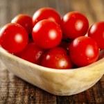 Cherry tomatoes closeup — Stock Photo #62845495