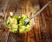 Avocado chopped — Stock Photo