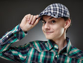 Trendy handsome young man — Stock Photo