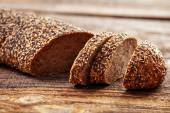 Bread with seeds — Stock Photo