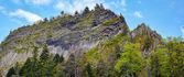 Detunatele volcanic  mountain — Stockfoto