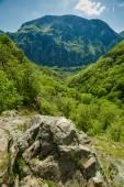 Mountain landscape on springtime — Stock Photo