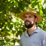 Bearded young farmer — Fotografia Stock  #77718010