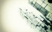 3D space cubes — Stock Photo