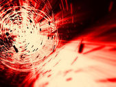 Red explosion background — Stock Photo