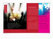Szablon wydarzenie muzyczne magazyn — Wektor stockowy