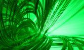 Green technology background — Stock Photo