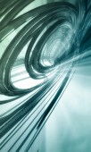 Futuristic whirl background — Stock Photo