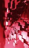 Geomerical futuristic background — Stock Photo