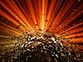 Explosion background — Stock Photo