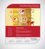 Modelo de negócios da web — Vetor de Stock