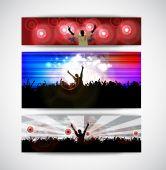 People dancing in club — Stock Vector