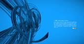 Cyber futuristic background — Stock Vector