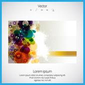 Colorful vector design concept — Stockvektor