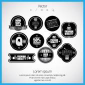 High quality button — Stock Vector