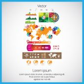 Statistic elements — Stock Vector