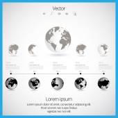 Montage infographique — Vecteur