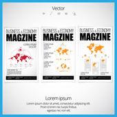 Cover brochure design — Stok Vektör