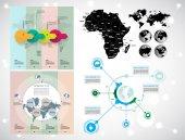 Illustration infographic — Stock Vector