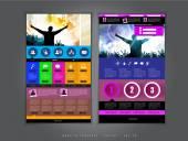 Website-design-vorlage — Stockvektor