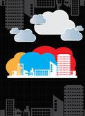 Skyline della città — Foto Stock