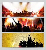 Music event illustration — Stock Photo