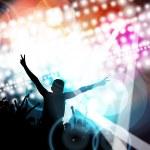 Concert background illustration — Stock Photo #74750409