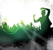 Concert background illustration — Stock Photo