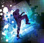 Karate illustartion — Stockfoto