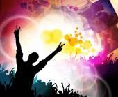 Big music event illustration — Stock Photo