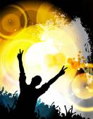 Big party illustration — Stock Photo