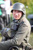 Military reconstruction in Poland — Stock Photo