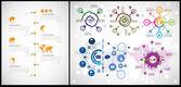 Infographic vector illusrtation — Stock Vector