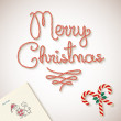 Merry Christmas dear santa sketchy letter Background — Stock Vector #54572881