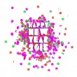 Happy new year 2015 party card — Stock Vector #59454209
