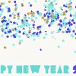Happy new year party 2015 — Stock Vector #59456551