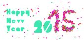 Happy new year 2015 party banner — Wektor stockowy