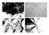Grunge texture backgrounds set — Stock vektor