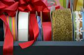 Colorful rolls of ribbons — Stock Photo