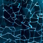 Broken glass as a background — Stock Photo